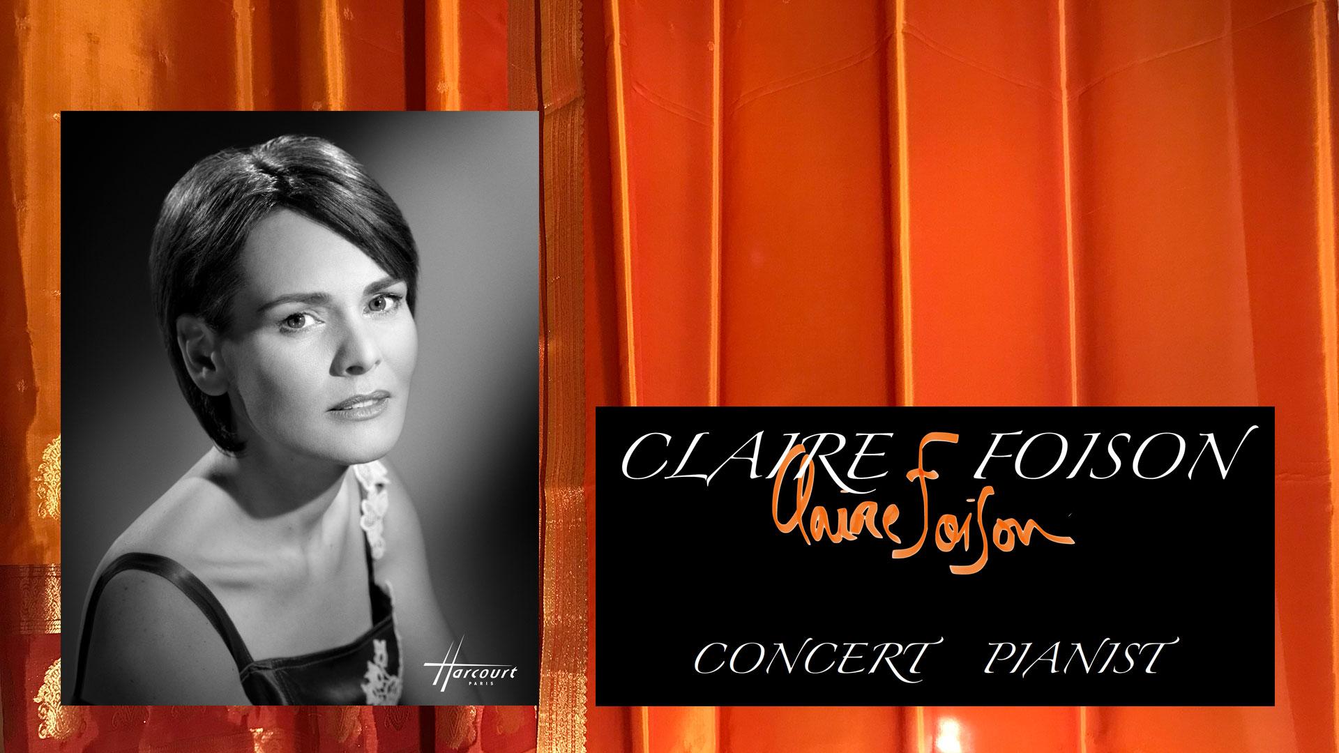 Claire Foison, Pianist